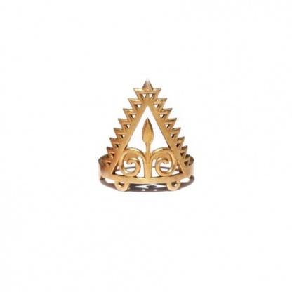 Arrow Goddess Adjustable Ring