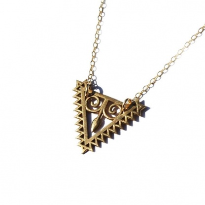 Arrow Goddess Necklace