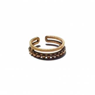 Virgo Adjustable Midi Ring