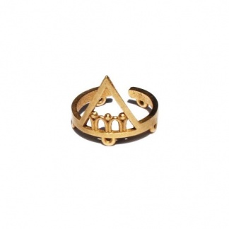Triangle Eternal Youth Ring