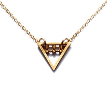 Triangle Eternal Youth Necklace