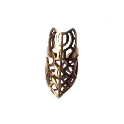 Full-Finger Chain-linked Claw Armor Weapon Ring