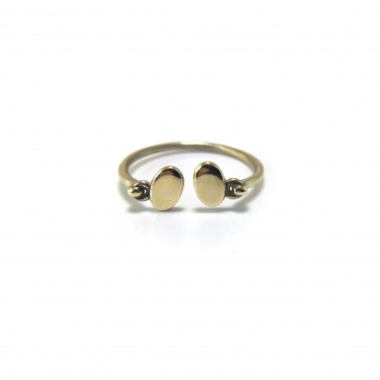 Double Coin Ring