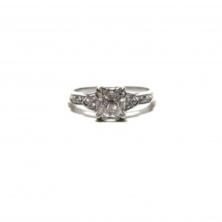 Lab-Grown Diamond Vintage Style Ring