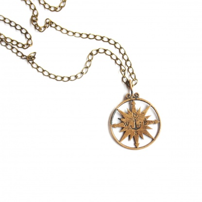 Nautical Compass Necklace