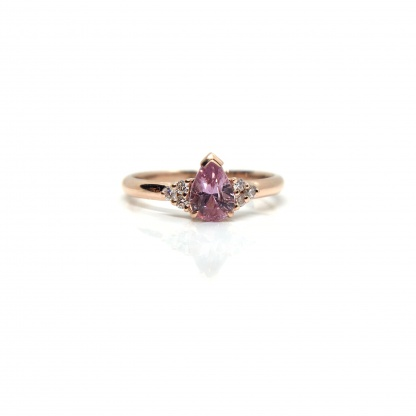 pink pear sapphire